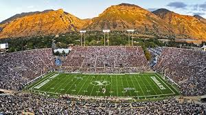 LaVell Edwards stadium was Rusty's sports heaven.