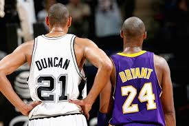 "Duncan provided the highest level of stability. Bryant was more capable of ""owning the game""."