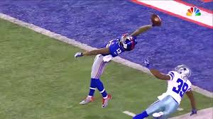 SOMETHING TO REMEMBER ABOUT THE NIGHT ODELL MADE THAT CATCH