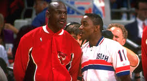 ISIAH THOMAS SAID THIS ABOUT MICHAEL JORDAN'S ENERGY LEVEL